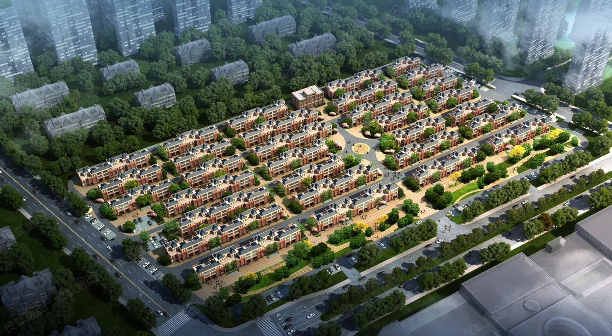 北京碧桂园时光小镇效果图图片