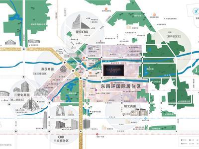 北京壹·亮马交通图图片