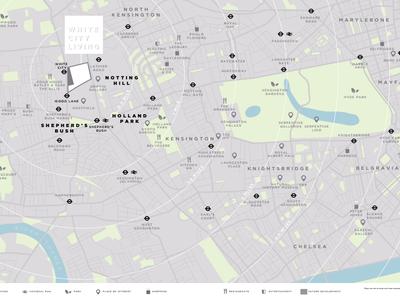 北京White City Living 柏郦交通图图片