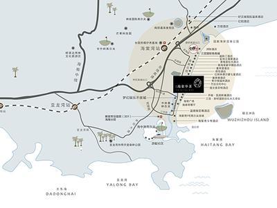 海南实地·海棠华著交通图图片