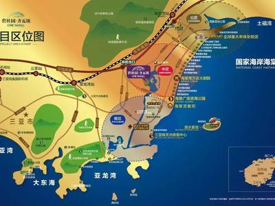 海南碧桂园齐瓦颂交通图图片