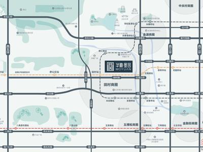 北京华瞰·墨园交通图图片