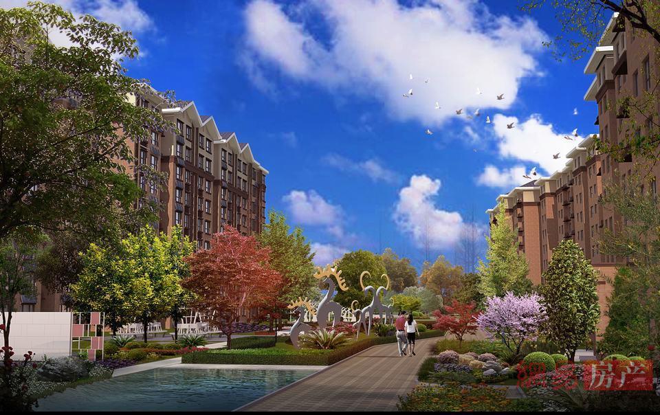 北京珠光御景西园效果图图片