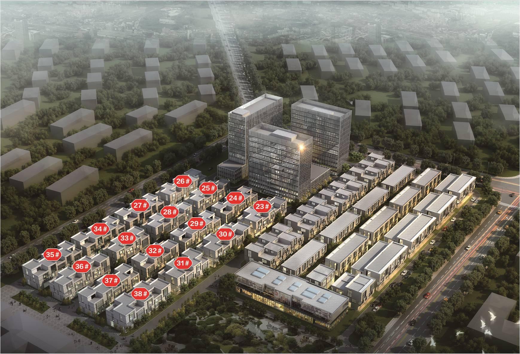 北京智汇广场效果图图片