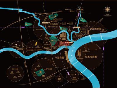 上海珠江铂世外滩界交通图图片