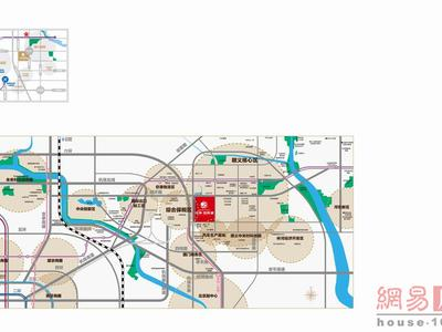 北京中海·国际城交通图图片