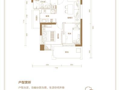 海南荣昱·月亮湾户型图图片
