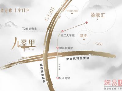 上海中海·九峯里交通图图片
