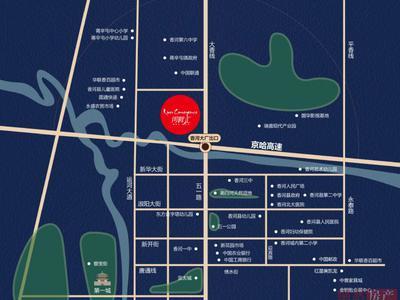 北京河畔汇交通图图片