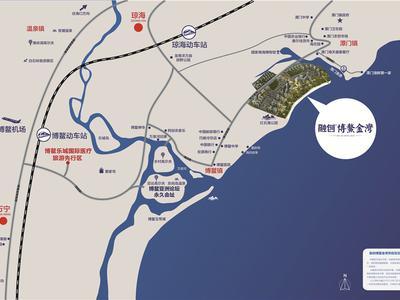 海南融创·博鳌金湾交通图图片