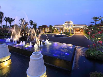 海南融创金成博鳌金湾实景图图片