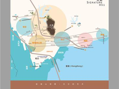 深圳新世界名镌交通图图片