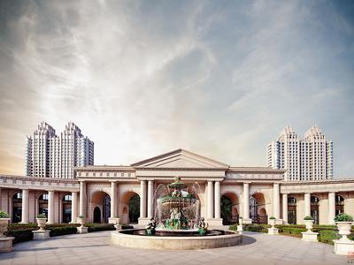 北京天润福熙大道实景图图片