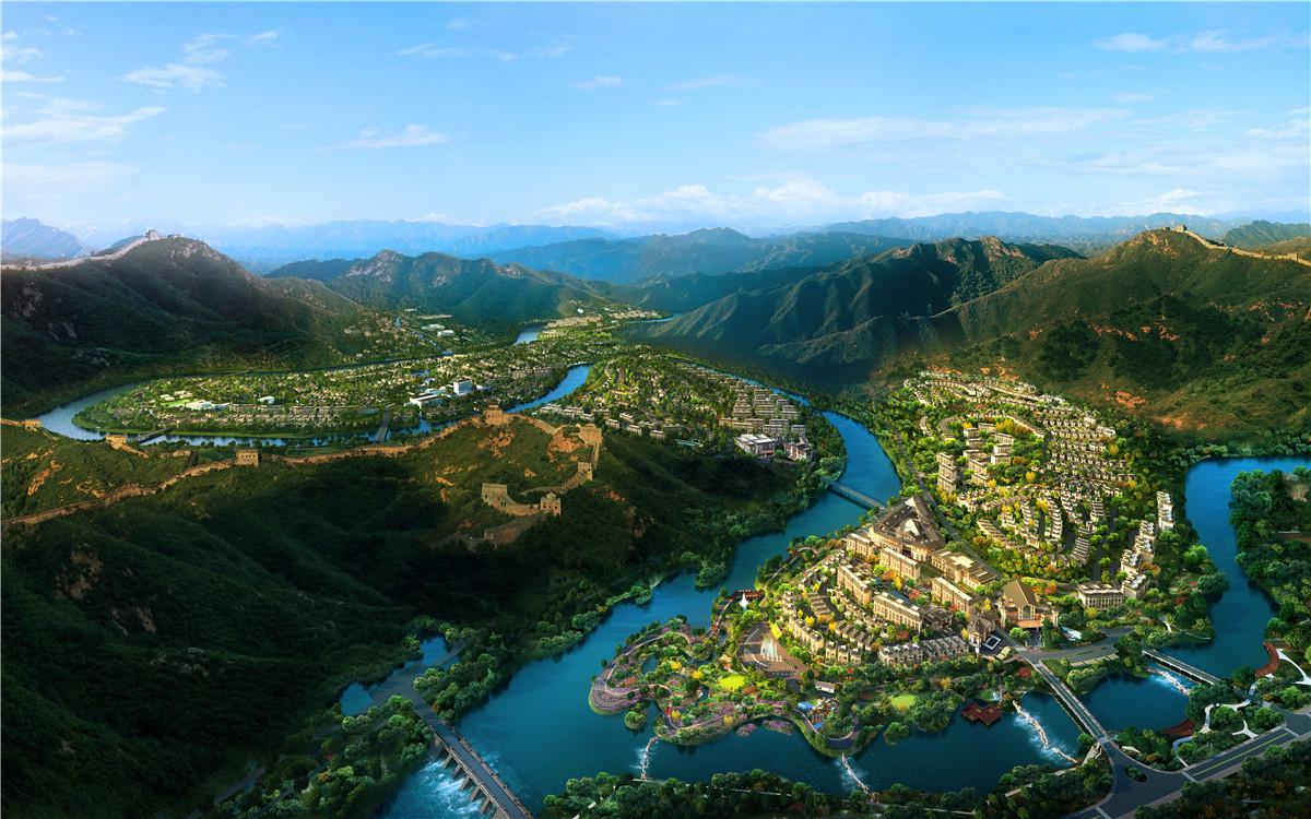 北京恒大长城小镇效果图图片