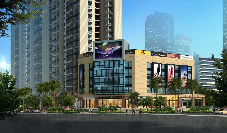 海南龙昆悦城效果图图片