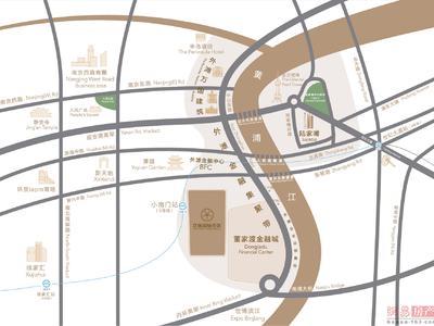 上海泛海国际住区交通图图片