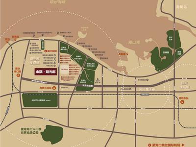 海南金隅 ·阳光郡交通图图片