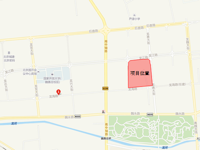 北京四季盛景园交通图图片