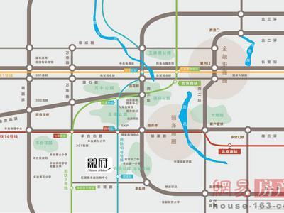 北京金融街·融府交通图图片