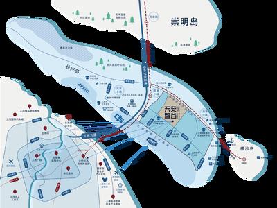 上海天安智谷上海长兴科创中心交通图图片