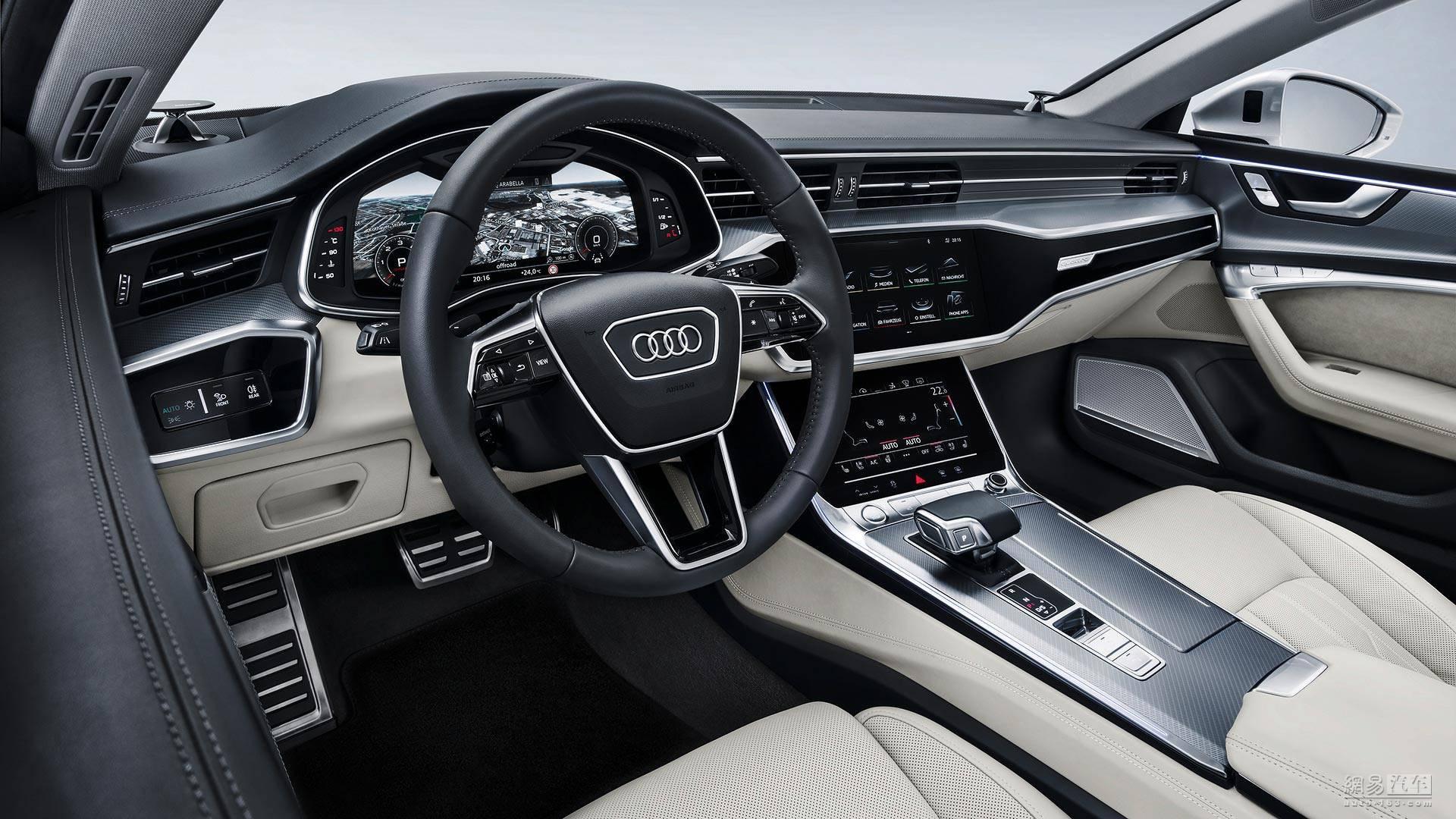 帅到让人窒息 全新一代奥迪A7全球首发