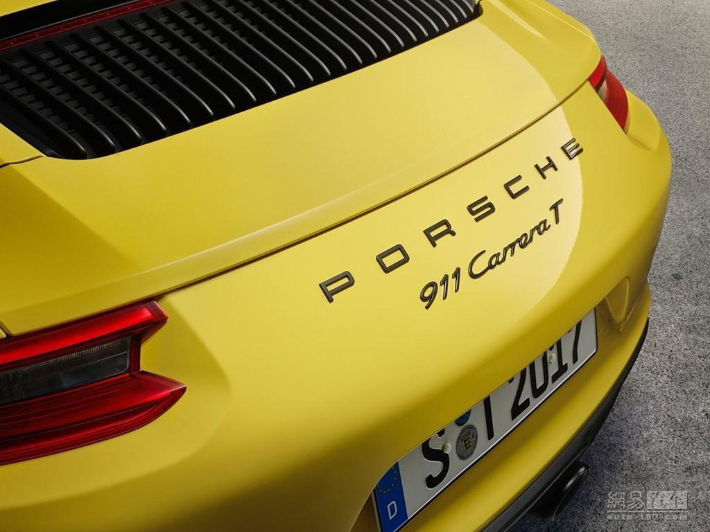 入门版911? 保时捷911 Carrera T官图