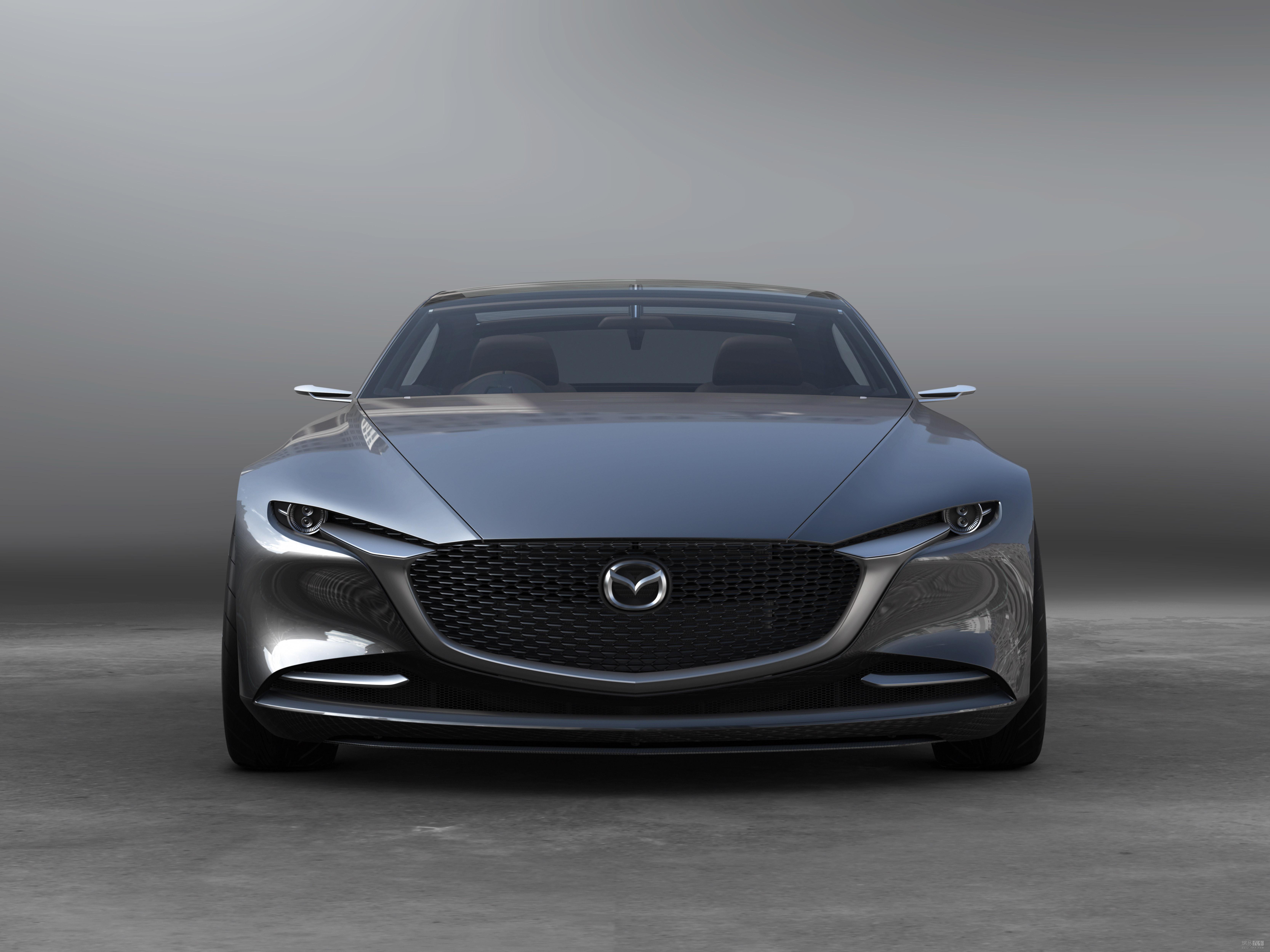 魂动设计升级 马自达VISION COUPE概念车