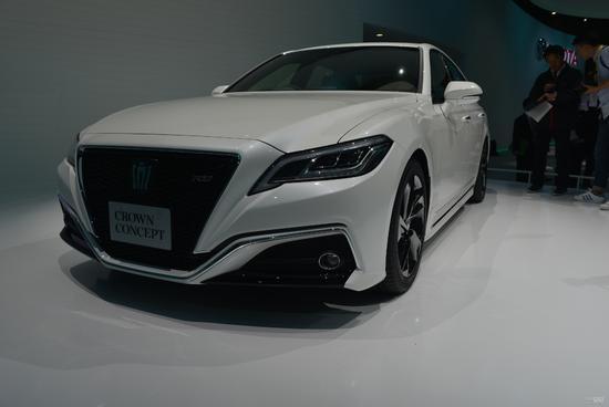 2017东京车展:丰田新一代皇冠概念车发布