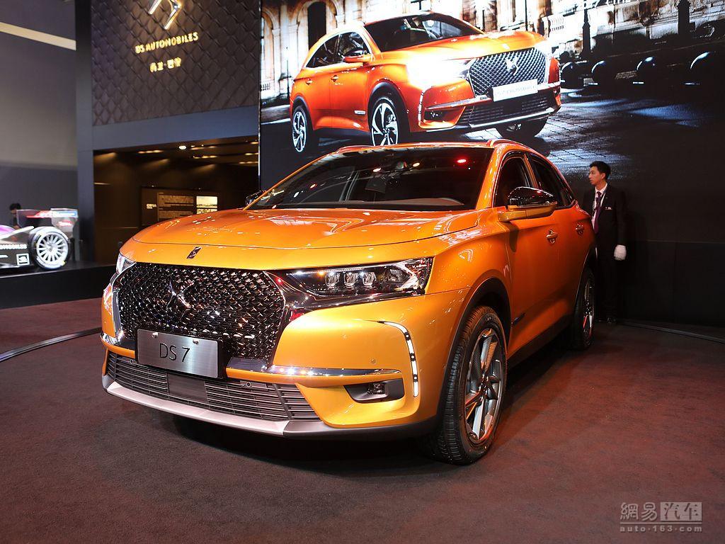 明年4月上市  DS品牌将推出旗舰中型SUV