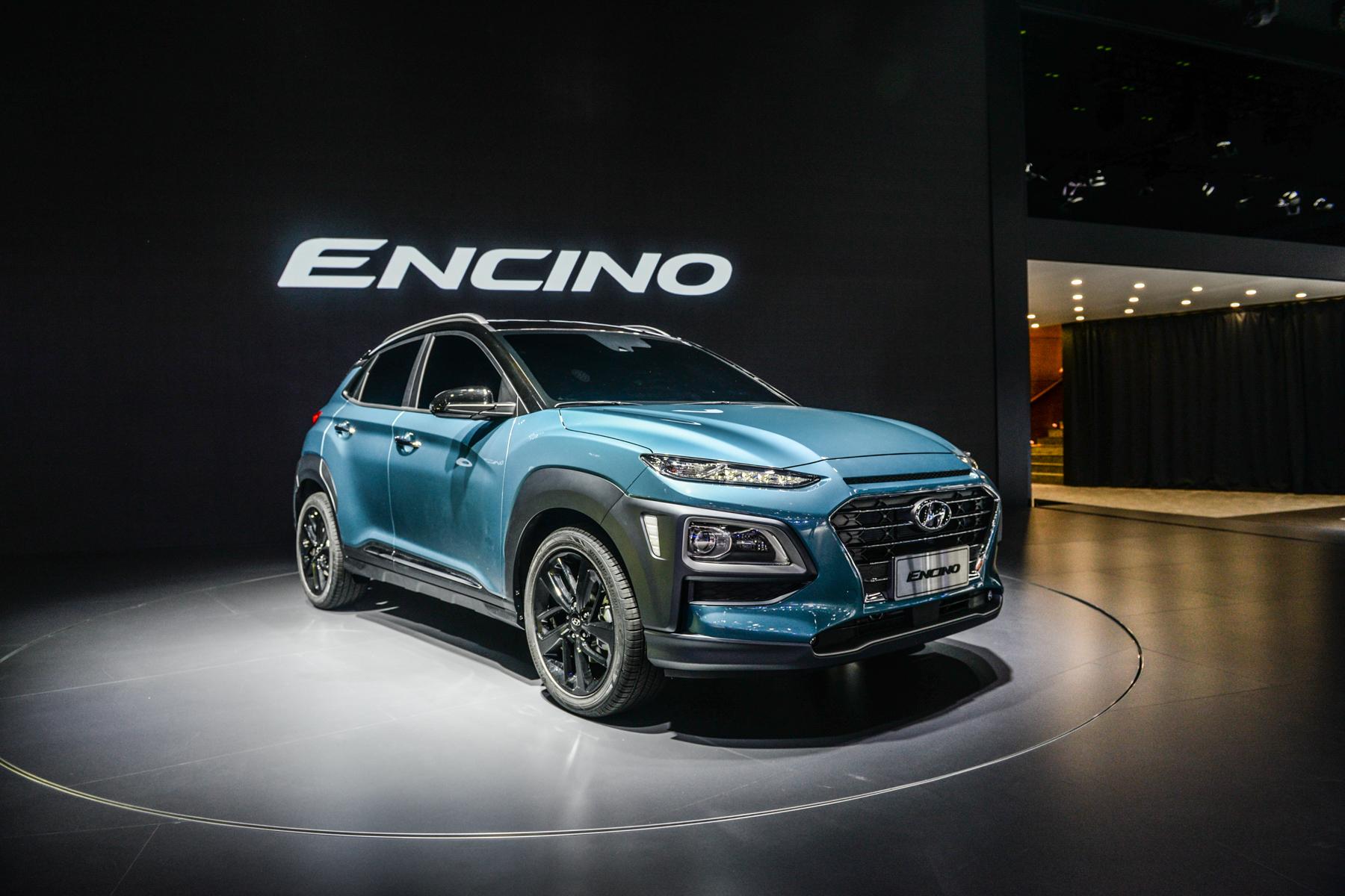 或10万起 现代ENCINO将明年一季度上市