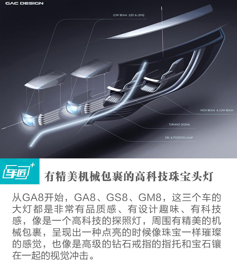 张帆:GM8用微质感,弱对比体现头等舱品质