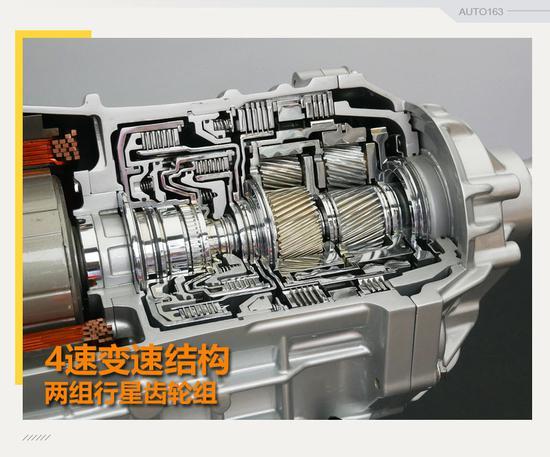 另外也减小了驱动电机的负荷,有利于电控的实施.