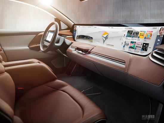 2019年量产上市 拜腾BYTON Concept首发