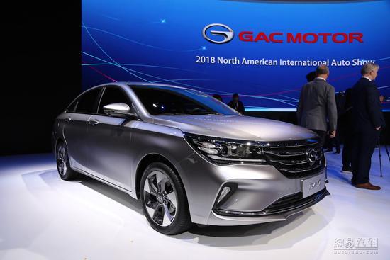 有一说二:传祺GA4去北美车展为了镀金?