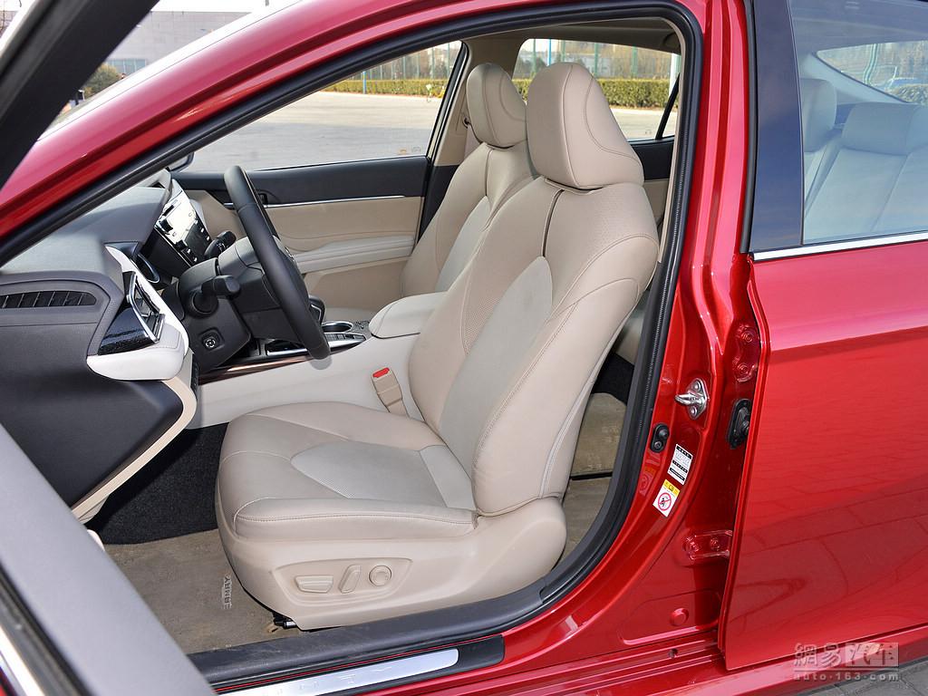 丰田全新凯美瑞 2018款 2.5q 旗舰版--驾驶位座椅