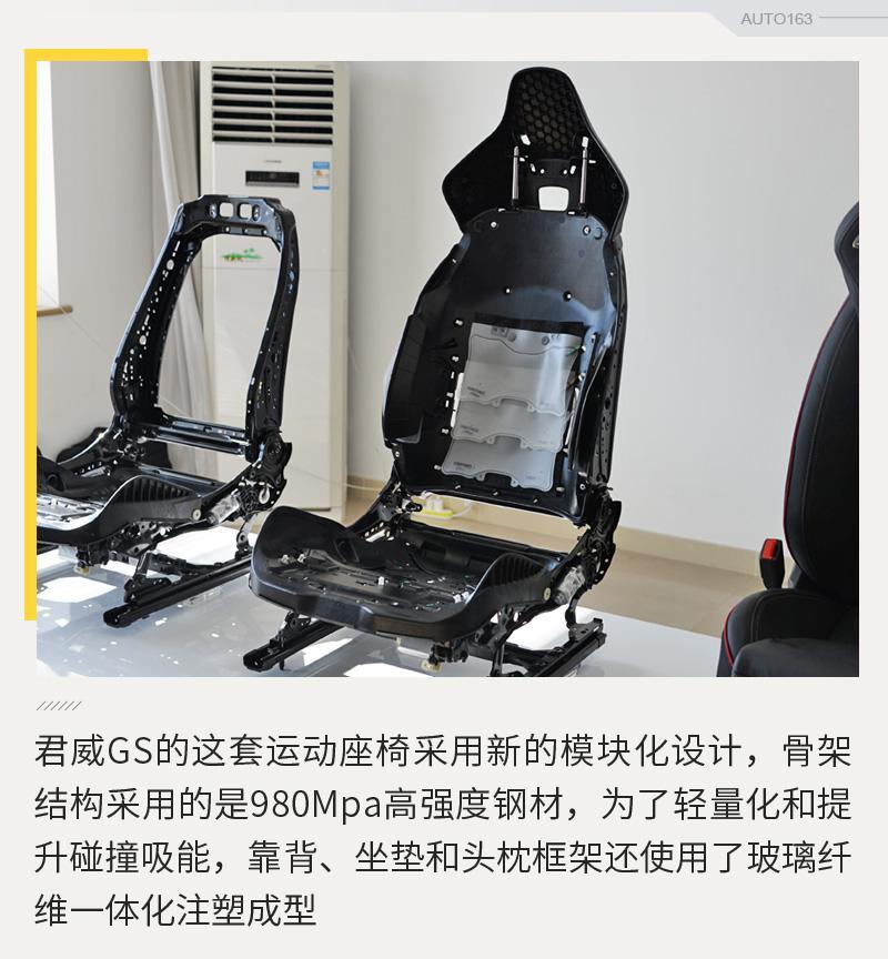 鱼和熊掌可兼得? 君威GS运动座椅解析