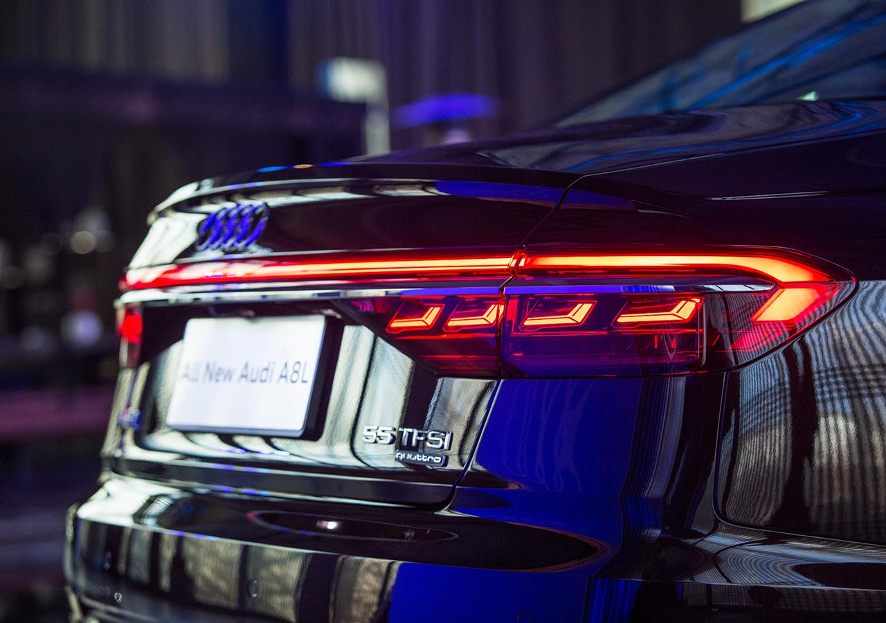 不光车灯玩的好 全新A8L将于4月8日上市