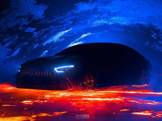 Panamera的梦魇 AMG GT Coupe官图泄露