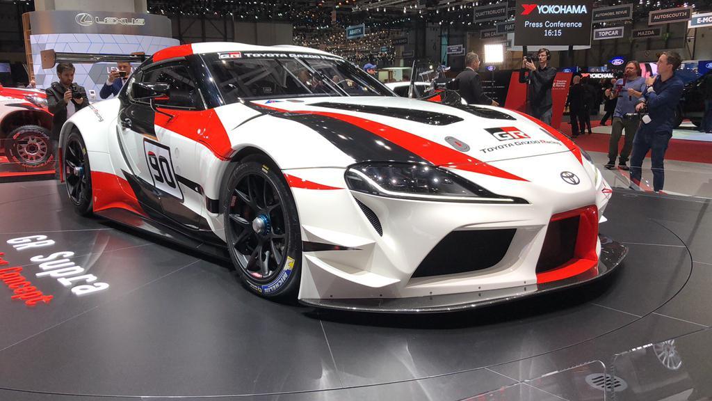 传奇归来 丰田全新Supra赛车首发