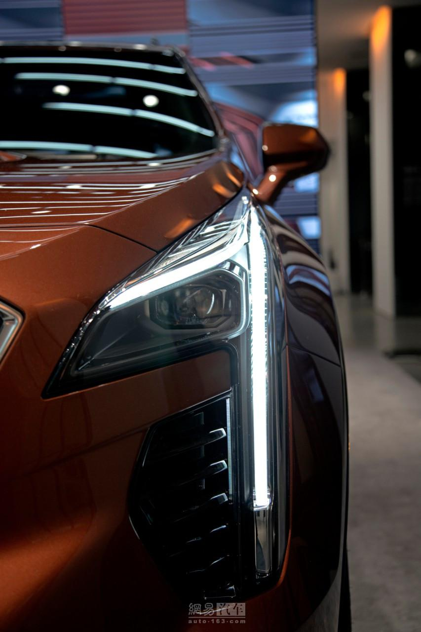外有颜值内有料 凯迪拉克XT4正式公布