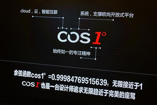 除了新颖的名字 欧尚COS1°还更有档次感了