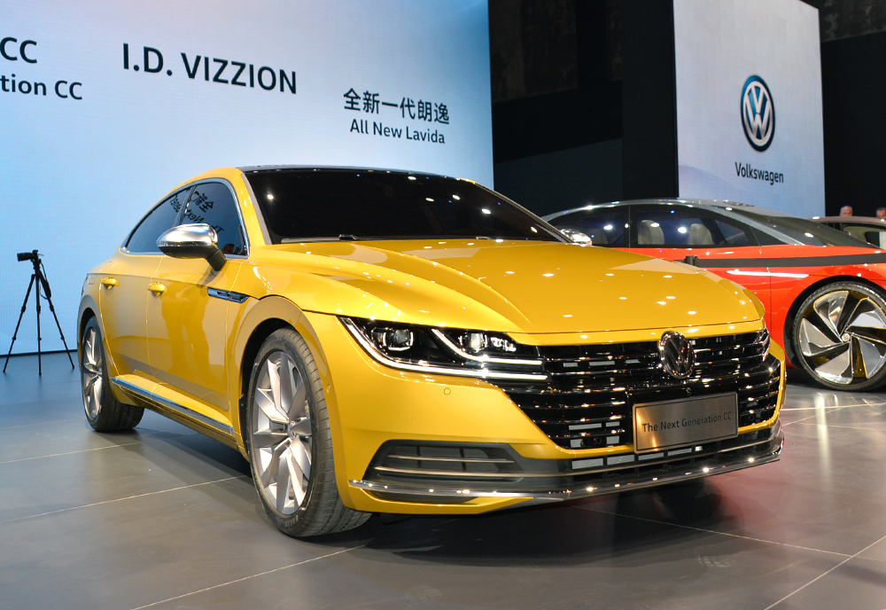 8月上市 一汽-大众全新CC亮相北京车展