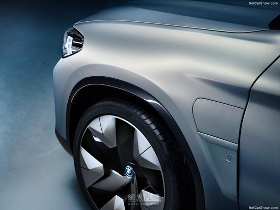 全新X3的纯电版 宝马iX3概念车正式发布