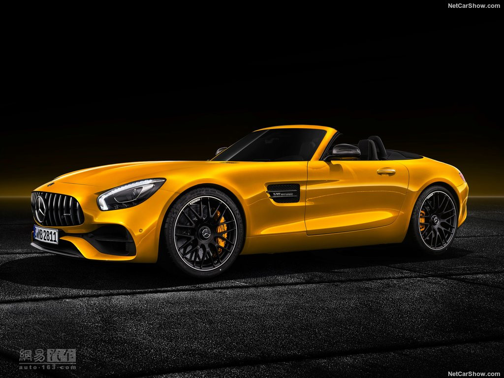 3.7秒破百 AMG GT S Roadster官图发布