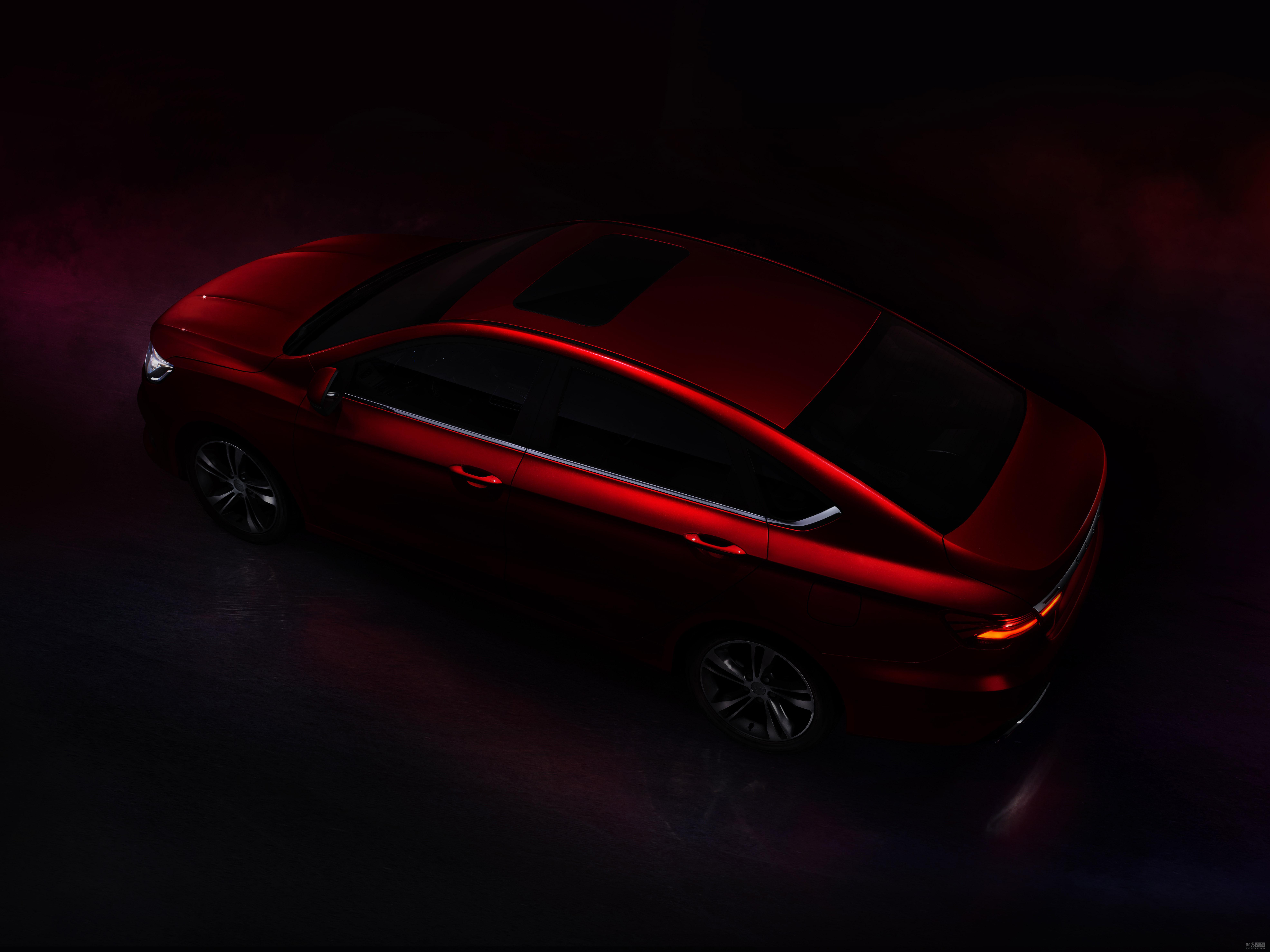 内部代号A06 吉利全新紧凑级轿跑车曝光