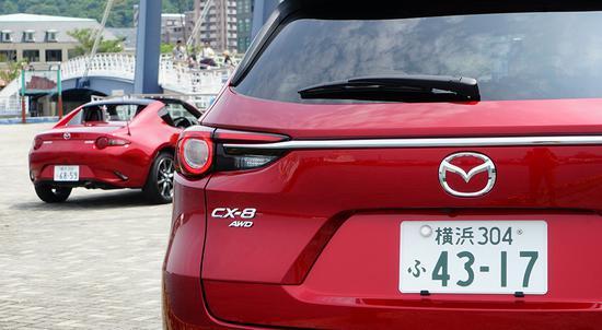 高颜值插班生 日本实拍全新马自达CX-8