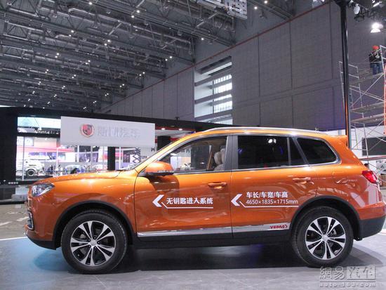 成都车展预售 2019款野马T80增1.8T+8AT