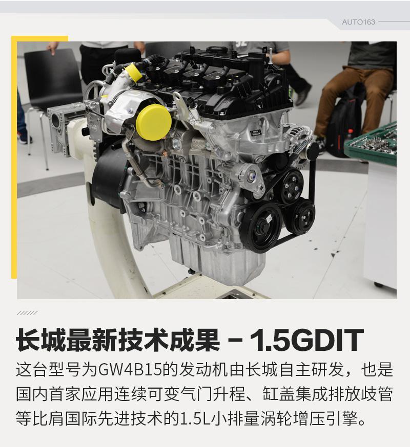技术再突破 长城GW4B15发动机拆解解析