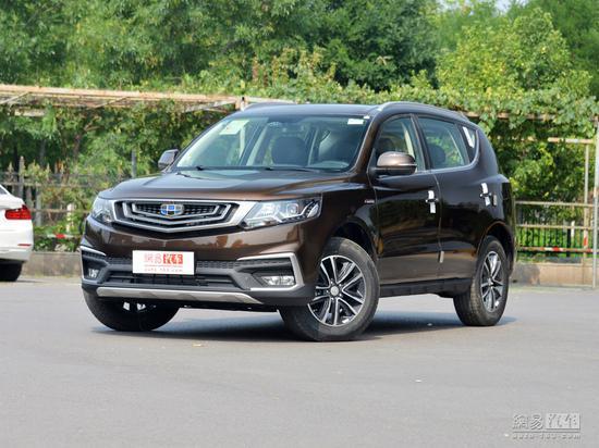 远景SUV 2019款 1.8L MT幸福版