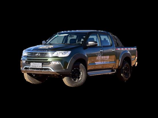 2018款 汽油 2.4L手动两驱标双进取型 猎豹CT7